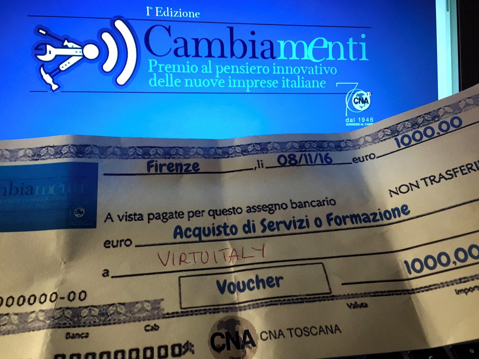 premio CNA cambiamenti Toscana